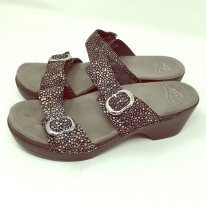 DANSKO Double Strap slide on sandals